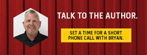 Talk to the author - set a time for a short phone call with Bryan