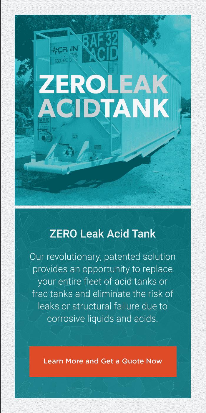ZERO Leak Acid Tank