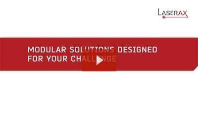 Video: Laserax modular solution provides highly adapted laser solutions