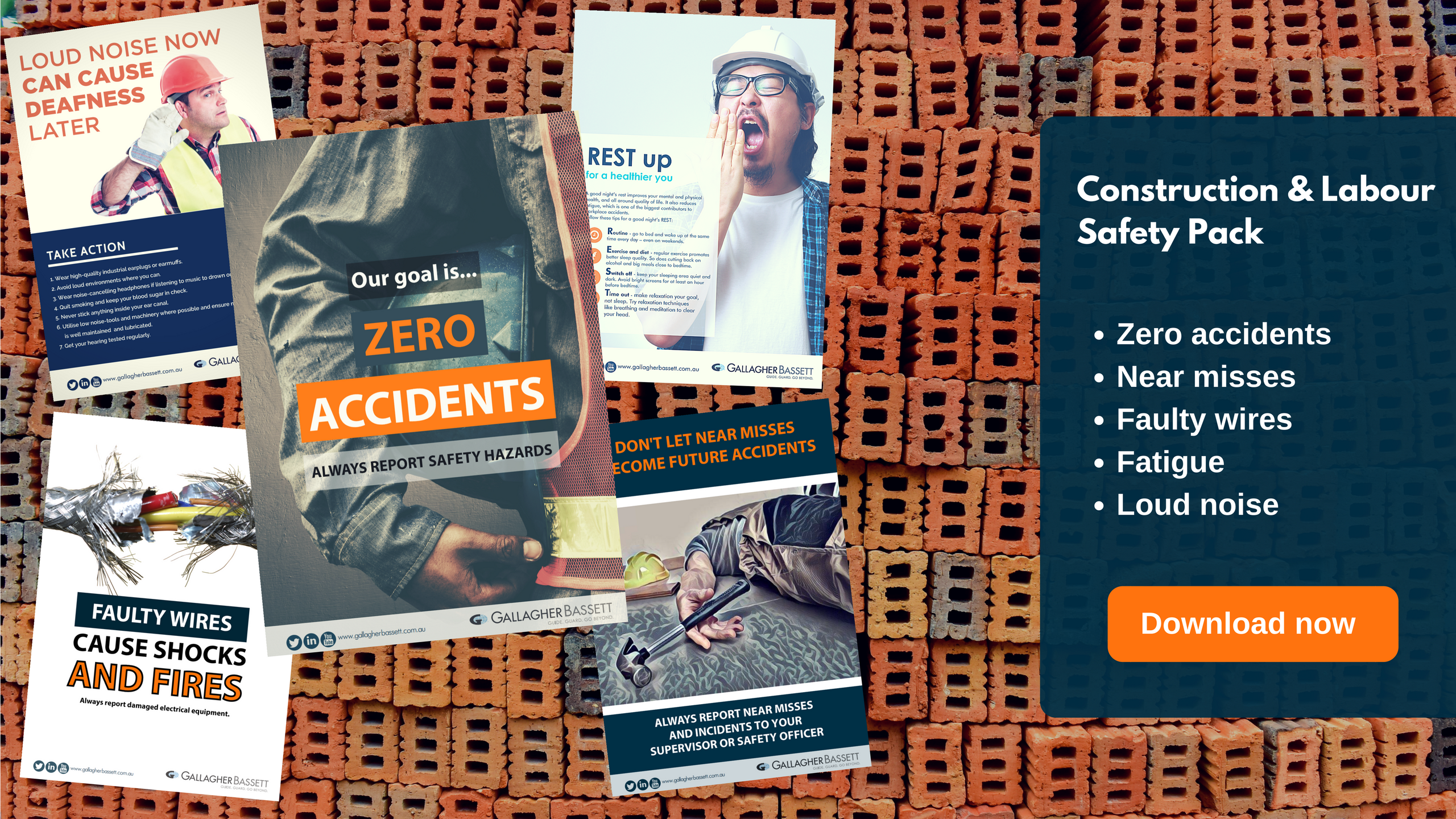 Grab our construction and manual safety poster pack
