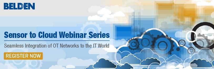 Sensor to Cloud Webinar Series