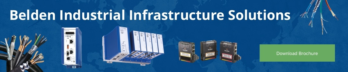 Download Belden's Industrial Infrastrucure Solutions brochure