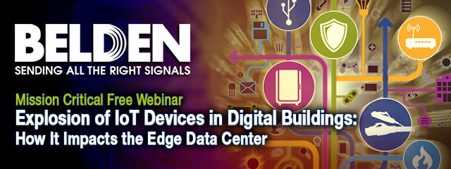 Free Webinar: Explosion of IoT Devices in Digital Buildings