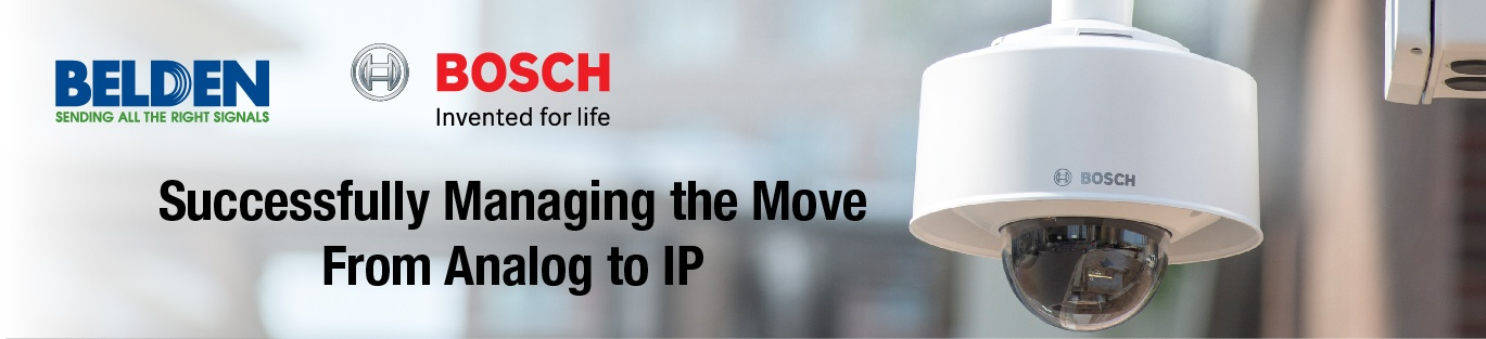 Successfully managing the move from analog to ip
