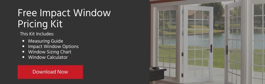 Impact Window Pricing Kit