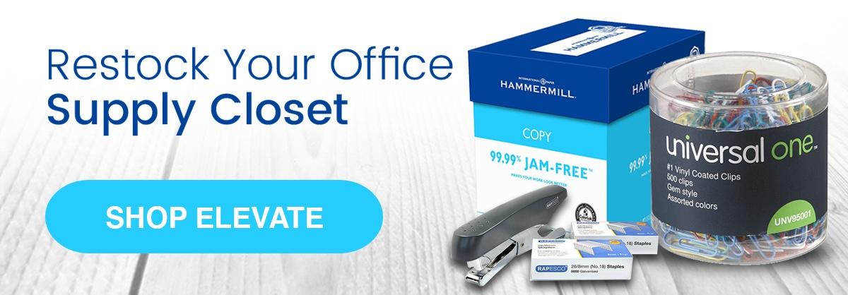 Restock Your Office Supply Closet