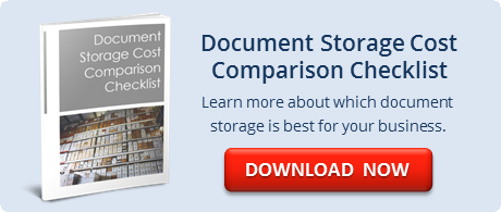 Document Storage Cost Comparison Checklist