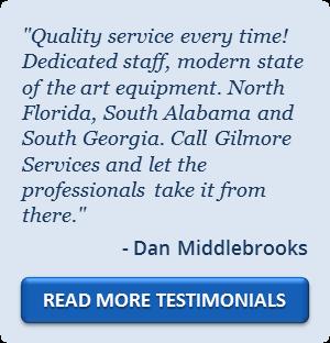 Gilmore Services Testimonial