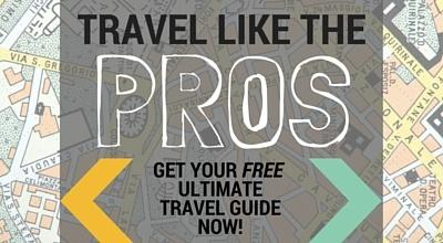 Travel like the pros. Get your FREE Ultimate Travel Guide now!