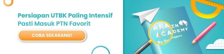 Paket Gap Year UTBK Brain Academy