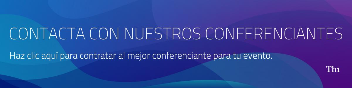 contacta con nuestros conferenciantes