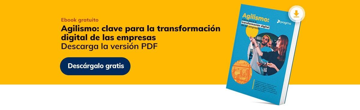 Descarga el ebook gratuito sobre agilismo y transformación digital