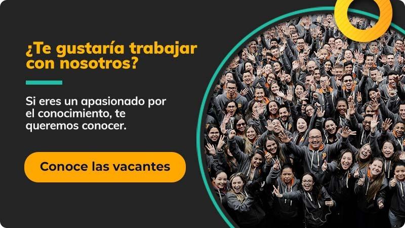 ¿Te gustaría trabajar con nosotros?
