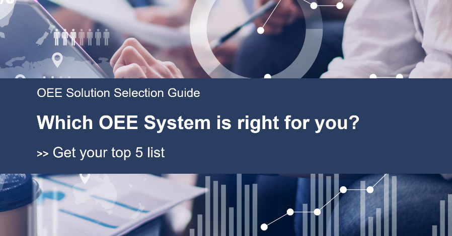 Learn the 5 OEE Systems that are best for you!