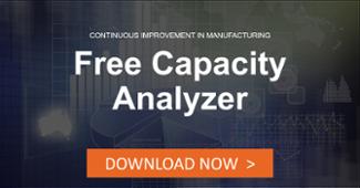 Free production capacity analyzer