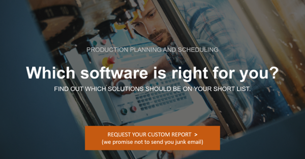 Best production planning software for manufacturing