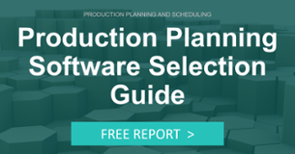 Production Planning Software Selection Guide