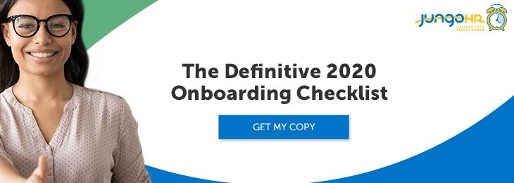 Free Download 2020 Onboarding Checklist