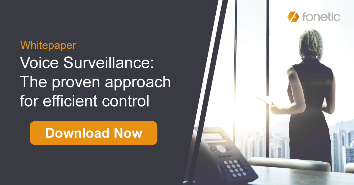 Download Whitepaper- Voice Surveillance: The Proven Approach for efficient Control