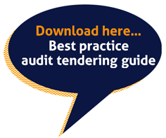 Best practice audit tendering guide