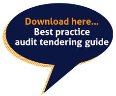 Best practice audit tendering guide