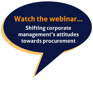 Shifting attitudes towards procurement webinar