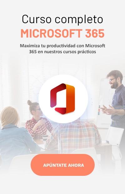 Microsoft 360 curso vertical
