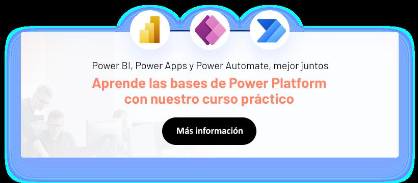 Power Platform curso horizontal
