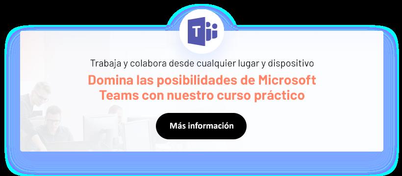 Microsoft teams curso horizontal