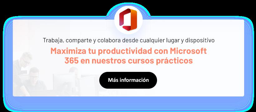 Microsoft 360 curso horizontal