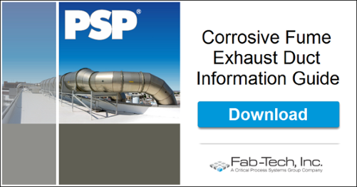 Corrosive Fume and Odor Control Exhaust Duct Information Guide