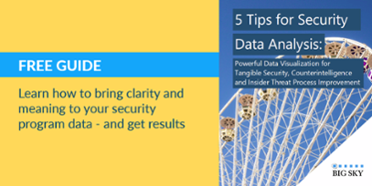 5 Tips for Security Data Analysis