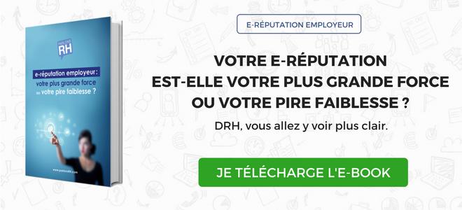 CTA e-book e-réputation employeur vert