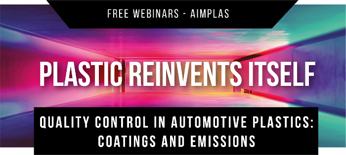 Free webinar Quality Control in Automotive Plastics: Coatings and Emissions