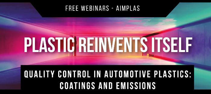 Free webinar Quality Control in Automotive Plastics: Coatings and Emissions
