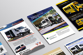 Creative Bus Sales - Brochures