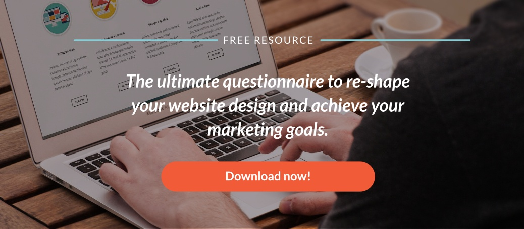 Download web design audit questionnaire