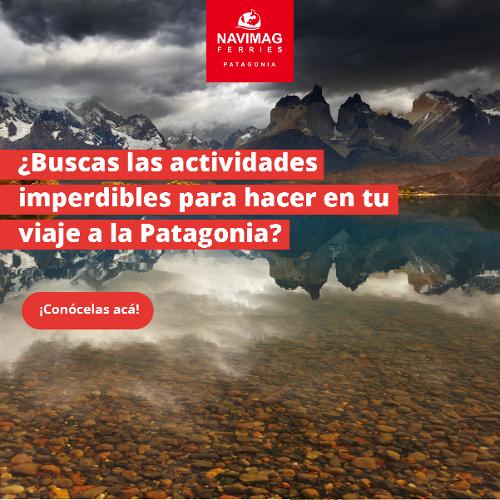 Descarga tu guía 4 actividades imperdibles en Patagonia