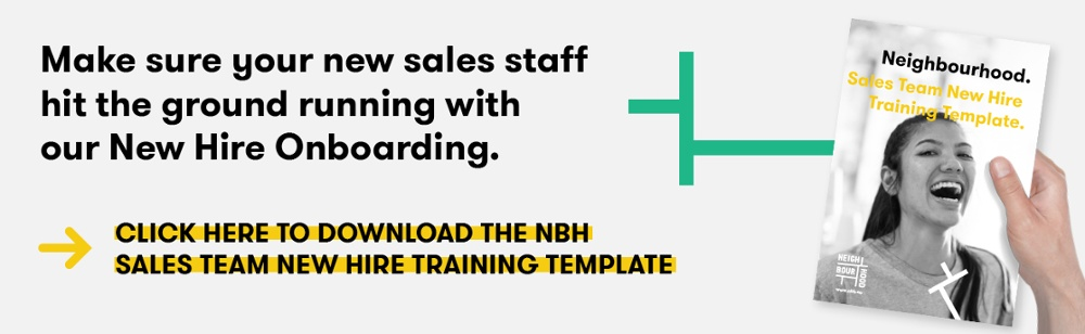 cta to download the Neighbourhood New Hire training Template