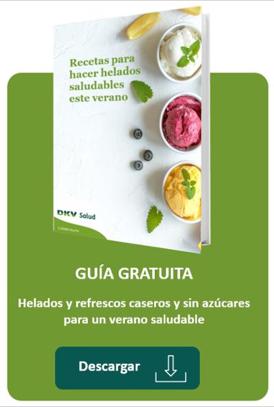 [Guía gratuita] Recetas para hacer helados sencillos, saludables y ¡sin azúcar!