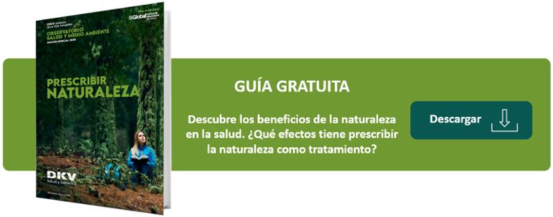 Prescribir naturaleza para la salud