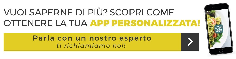 scopri come ottenere un'app personalizzata per il tuo ristorante
