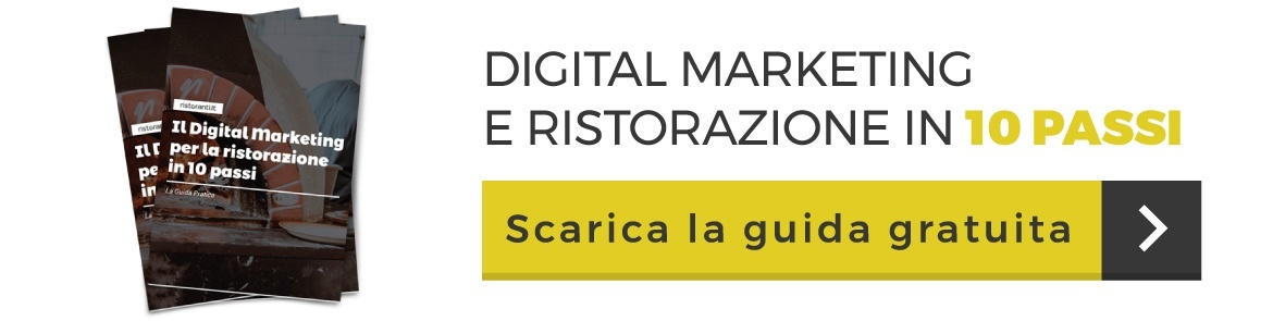 ristorazione marketing digitale in 10 passi
