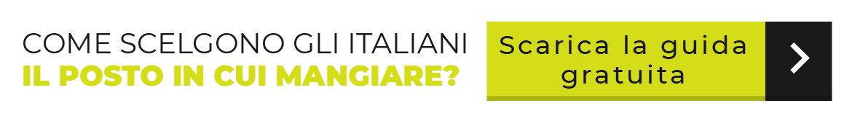 come scelgono gli italiani il posto in cui mangiare