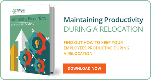 Maintaining Productivity During An Employee Relocation