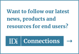 Visit IDI Connections blog for end users
