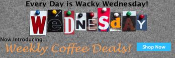 Weekly Keurig K-cup coffee deals!