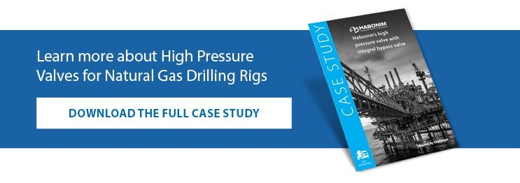 To learn more about High Pressure Valves for Natural Gas Drilling Rigs, download the case study.