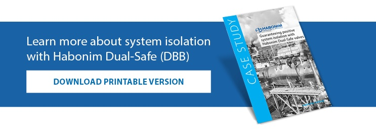 Learn more about system isolation with Habonim Dual-Safe (DBB)