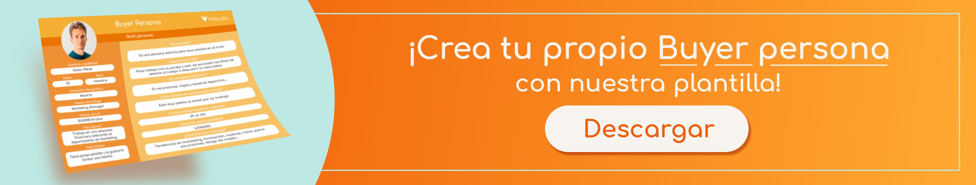 Plantilla Buyer Persona